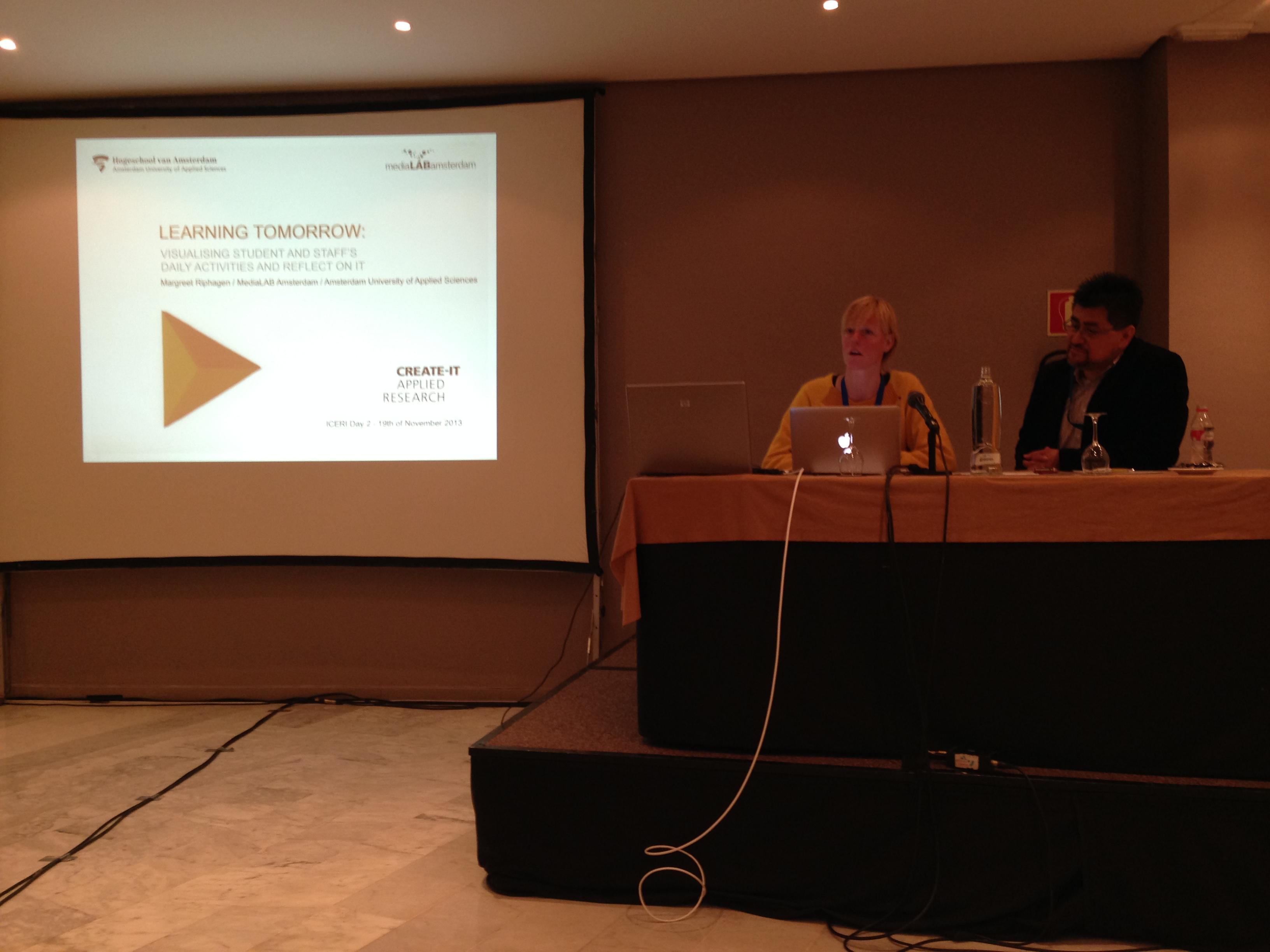Presenting at ICERI2013