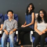 The team (Left to right: Jordano, Shogo, Aparna, Amanda & Maria)