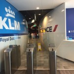 KLM's Point of View entrance